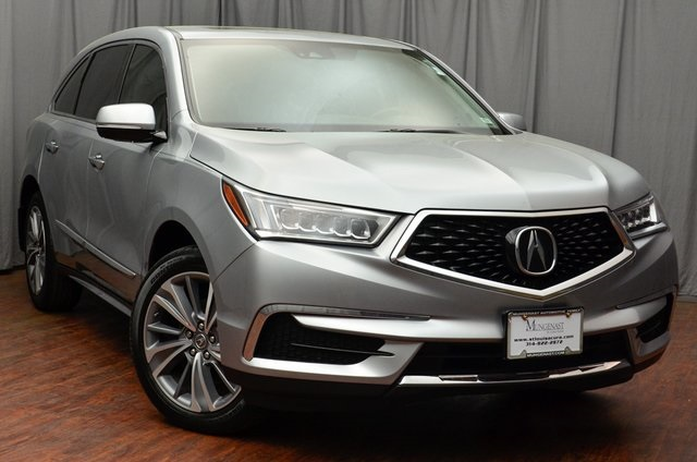 Certified Pre Owned 2017 Acura Mdx Sh Awd With Technology Package